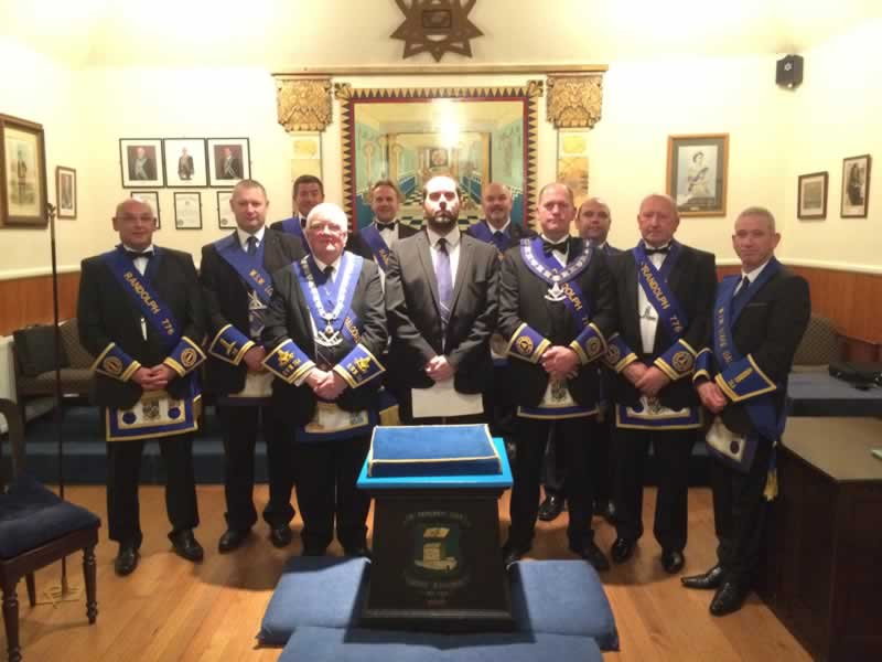 Brethren of Lodges 764 and 776
