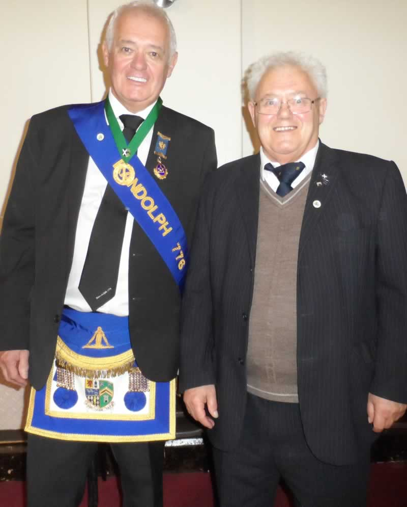 Past Master Bro. George Wilson